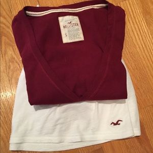 Hollister Cotton Shirt and Skirt set